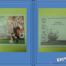 Cromos de Fútbol: ITURRINO. LOGROÑES. SIN PEGAR. EDICIONES ESTE LIGA 92/93. Lote 51407854