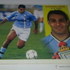 Cromos de Fútbol: COLECCIÓN CROMOS DE FÚTBOL1ª DIVISION LIGA 2002-2003 ED. ESTE, GUSTAVO LOPEZ R. C. CELTA DE VIGO. Lote 51643025