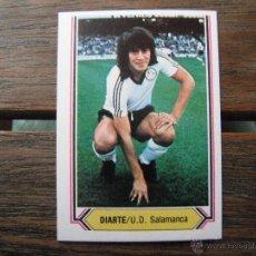 Cartes à collectionner de Football: CROMO ESTE 1980/81. DIARTE (U.D.SALAMANCA). NUNCA PEGADO. . Lote 51765012