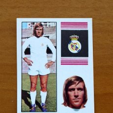 Cartes à collectionner de Football: REAL MADRID - NETZER - EDITORIAL FHER 1974-1975, 74-75 - NUNCA PEGADO. Lote 51922281