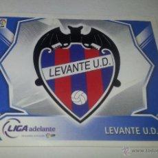 Cromos de Fútbol: COLECCIÓN CROMOS DE FÚTBOL LIGA 2008-2009, ED. ESTE, ESCUDO LEVANTE U. D.. Lote 51967338