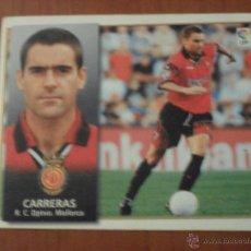Cromos de Fútbol: CARRERAS, MALLORCA ESTE 98 99 1998 1999, NUEVO. Lote 52007563