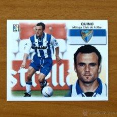 Cromos de Fútbol: MÁLAGA - QUINO - BAJA - EDICIONES ESTE 1999-2000, 99-00 - NUNCA PEGADO. Lote 10978542
