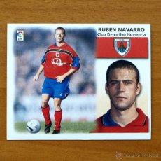 Cromos de Fútbol: NUMANCIA - RUBEN NAVARRO - COLOCA - EDICIONES ESTE 1999-2000, 99-00 - NUNCA PEGADO. Lote 25402382