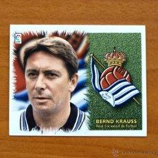 Cromos de Fútbol: REAL SOCIEDAD - BERND KRAUSS - BAJA - EDICIONES ESTE 1999-2000, 99-00 - NUNCA PEGADO. Lote 10979152