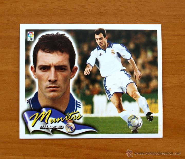 REAL MADRID - MUNITIS SIN PUBLICIDAD - COLOCA - EDICIONES ESTE 2000-2001, 00-01 - NUNCA PEGADO (Coleccionismo Deportivo - Álbumes y Cromos de Deportes - Cromos de Fútbol)