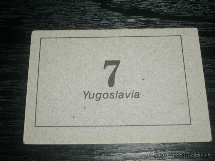 Cromos de Fútbol: -CROMO ARTUA MUNDIAL ESPAÑA 82 : 7 YUGOSLAVIA - Foto 2 - 52353378