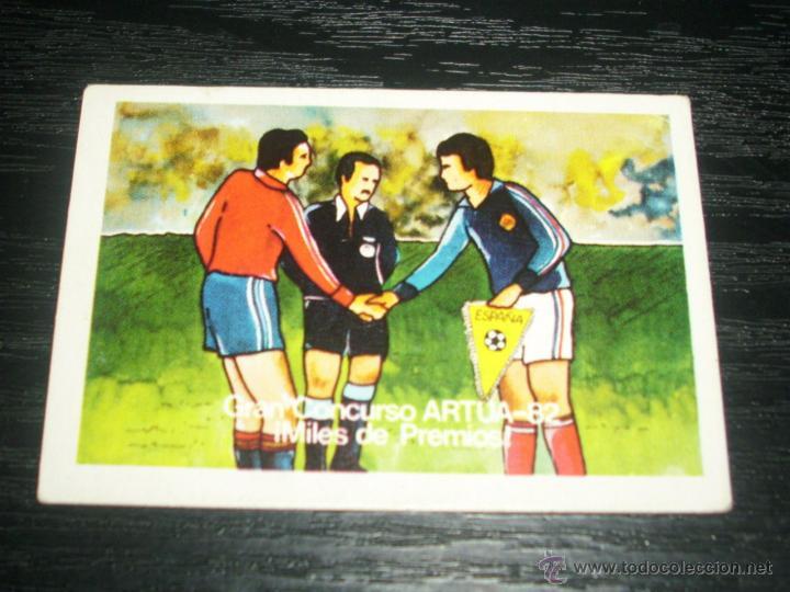 -CROMO ARTUA MUNDIAL ESPAÑA 82 : 24 (Coleccionismo Deportivo - Álbumes y Cromos de Deportes - Cromos de Fútbol)