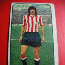 Cromos de Fútbol: CROMO DE FUTBOL LIGA 77 / 78, ED. ESTE, ATLETHIC DE BILBAO, ESCALZA, 1977 1978 ERCOM. Lote 52413509