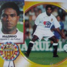 Cromos de Fútbol: CROMO - CROMOS EDICIONES ESTE LIGA 94/95 1994 / 1995 - MAZINHO VALENCIA SIN PEGAR COLOCA. Lote 52445273