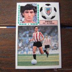 Cromos de Fútbol: CROMOS ESTE 1983/84. ENDIKA -COLOCA- (ATH.BILBAO). -MUY DIFICIL- NUNCA PEGADO. . Lote 52447823
