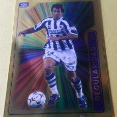 Cromos de Fútbol: 404 LÓPEZ REKARTE (REAL SOCIEDAD) FICHA BRILLO FONDO LISO MUNDICROMO 2004 2005 MC FICHAS LIGA 04 05. Lote 78308814