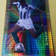 Cromos de Fútbol: 242 BENJAMÍN (REAL BETIS) FICHA BRILLO FONDO CUADROS MUNDICROMO 2004 2005 MC FICHAS LIGA 04 05. Lote 52473987