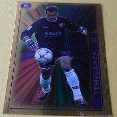 Cromos de Fútbol: 161 ESTEBAN (SEVILLA FC) FICHA BRILLO FONDO LISO MUNDICROMO 2004 2005 MC FICHAS LIGA 04 05. Lote 89029420