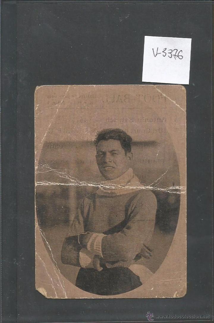 ANTONIO ESTRUCH- CENTRE SPORTS SABADELL -FOOTBALL - GALERIA DE JUGADORES - SERIE B- NUM1- (V-3376) (Coleccionismo Deportivo - Álbumes y Cromos de Deportes - Cromos de Fútbol)