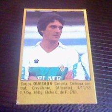 Cromos de Fútbol: CROMO ROLLAN 85 ELCHE QUESADA. Lote 52532329