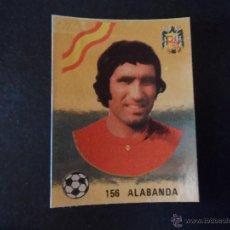 Cromos de Fútbol: ESPAÑA ALABANDA SELECCION ESPAÑOLA MUNDIAL ARGENTINA Nº 156 ALBUM MAGA LIGA 1978 - 1979 ( 78 - 79 ). Lote 297387068