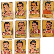 Cromos de Fútbol: LOTE DE 13 CROMOS DE FUTBOL-GRANADA C.F.- DEL EDT.LA VALENCIANA -1940-41-3 EUROS UNIDAD. Lote 16321191
