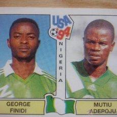 Cromos de Fútbol: CROMO PANINI MUNDIAL USA 1994 - 94 - GEORGE FINIDI NIGERIA Nº 240 - SIN PEGAR. Lote 178816641