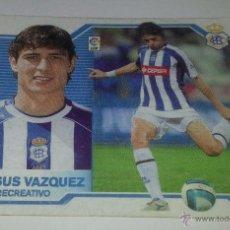 Cromos de Fútbol: COLECCIÓN CROMOS DE FÚTBOL LIGA 2007-2008, ED. ESTE, JESUS VAZQUEZ R. C. RECREATIVO. Lote 52683966