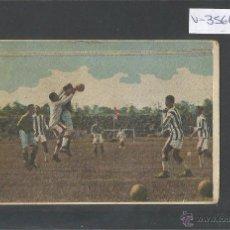Cromos de Fútbol: SUECIA - EGIPTO - FOOTBALL- VIII OLIMPIADA - FRANCIA 1924 - VER REVERSO - (V-3566). Lote 52716892