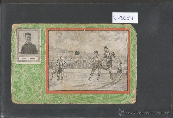 MANUEL BESSAS - FUTBOL CLUB MARTINENC -CHOCOLATE SULTANA - VER REVERSO - (V- 3604) (Coleccionismo Deportivo - Álbumes y Cromos de Deportes - Cromos de Fútbol)
