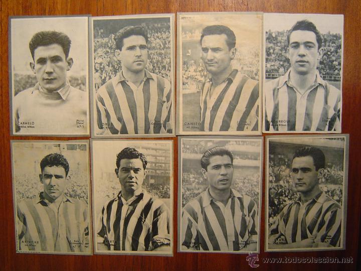 ATHLETIC CLUB DE BILBAO - 8 CROMOS DIFERENTES-COLECCIÓN DICEN 1958 - 1959 - INCLUYE LISTADO (Coleccionismo Deportivo - Álbumes y Cromos de Deportes - Cromos de Fútbol)