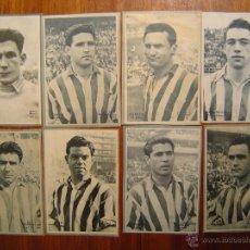 Cromos de Fútbol: ATHLETIC CLUB DE BILBAO - 8 CROMOS DIFERENTES-COLECCIÓN DICEN 1958 - 1959 - INCLUYE LISTADO. Lote 52734056