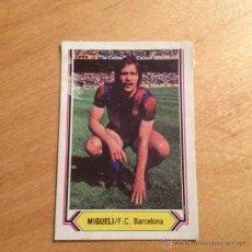 Cromos de Fútbol: EDICIONES ESTE 1980 1981 - 80 81 - MIGUELI - BARCELONA. Lote 84635140