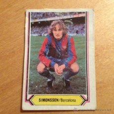Cromos de Fútbol: EDICIONES ESTE 1980 1981 - 80 81 - SIMONSSEN - BARCELONA. Lote 52820086