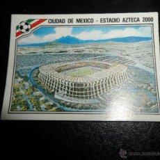 Cromos de Fútbol: ESTADIO AZTECA 2000 CROMO Nº 17 MEXICO 86 ( WORLD CUP / COPA DEL MUNDO ) - PANINI. Lote 205680297