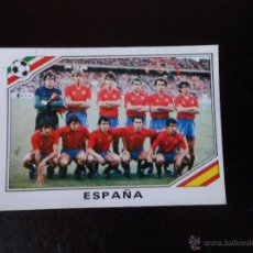 Cartes à collectionner de Football: ALINEACION DE ESPAÑA SPAIN CROMO Nº 257 MUNDIAL MEXICO 86 WORLD CUP PANINI. Lote 233103250