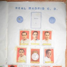 Cromos de Fútbol: PLANTILLA CROMOS REAL MADRID 1953 1954 DEL ALBUM CROMOS POLLUELOS Nº 4. Lote 52938115