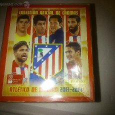 Cromos de Fútbol: CAJA PRECINTADA CON 50 SOBRES CROMOS COLECCION OFICIAL AT.MADRID TEMP. 2013-14. Lote 52968846