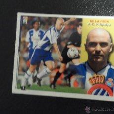 Cromos de Fútbol: DE LA PEÑA COLOCA DEL ESPAÑOL ESPANYOL VERSION DIFICIL ALBUM ESTE LIGA 2002 - 2003 ( 02 - 03 ) . Lote 52973578