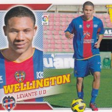 Cromos de Fútbol: ESTE 2010 2011 - LEVANTE UD - MERCADO INVIERNO Nº 12 WELLINGTON - NUEVO DE SOBRE . Lote 144659581