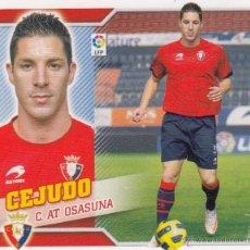 Cromos de Fútbol: ESTE 2010 2011 - C AT. OSASUNA - MERCADO INVIERNO Nº 21 CEJUDO - NUEVO DE SOBRE. Lote 165609040