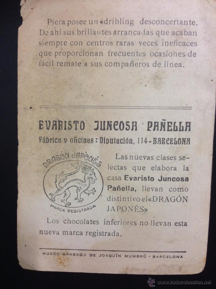 Cromos de Fútbol: PIERA - LOS ASES DEL FUTBOL Y SU JUEGO - SERIE A NUM· 13 - (V-3696) - Foto 2 - 53005196