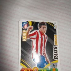 Cromos de Fútbol: 1 CROMO FICHA PANINI ADRENALYN TEMPORADA 11-12 ( 2011-2012 ) - ATLETICO MADRID - KOKE PLUS JUNIOR. Lote 53029107