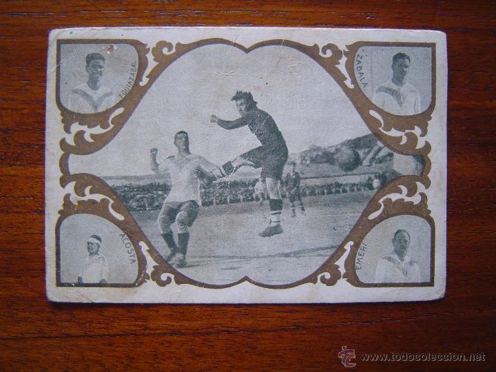 REAL UNION DE IRUN - BARCELONA , 1924 - ESCENAS FUTBOLISTICAS Y JUGADORES #3 (Coleccionismo Deportivo - Álbumes y Cromos de Deportes - Cromos de Fútbol)