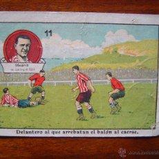 Cromos de Fútbol: MEANA ( SPORTING DE GIJON ) - CROMO RARÍSIMO - NÚM. 11 - FOOT-BALL AÑOS 20. Lote 53161157