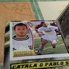 Cromos de Fútbol: ESTE 2003/04 PABLO SIERRA BAJA MUY DIFICIL EN VENTANILLA CON CATALA (A-10). Lote 53324753