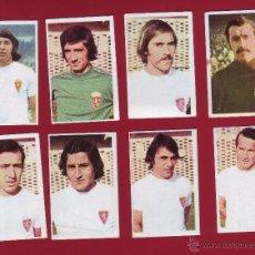 Cromos de Fútbol: RUIROMER - CAMPEONATO NACIONAL DE FUTBOL 1976-1977 - LOTE DE 8 CROMOS ZARAGOZA. Lote 36592638