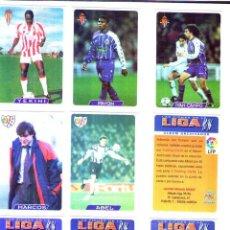 Cromos de Fútbol: FÚTBOL CROMO BONO CAMISETA MUNDICROMO 1995 1996. Lote 122129439