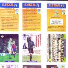 Cromos de Fútbol: FÚTBOL CROMO BONO FÚTBOL CHAPA MUNDICROMO 1995 1996. Lote 53483370