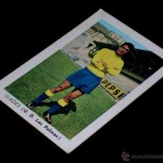 Cromos de Fútbol: CROMO GUEDES U.D. LAS PALMAS. ALBUM FÚTBOL LIGA FHER, 70 71 / 1970 1971. SIN PEGAR.. Lote 172106767