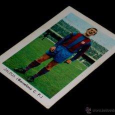Cromos de Fútbol: CROMO ZALDUA BARCELONA C.F. ALBUM FÚTBOL LIGA FHER, 70 71 / 1970 1971. SIN PEGAR.. Lote 252912430