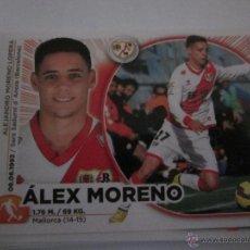 Cromos de Fútbol: MERCADO INVIERNO ALEX MORENO DEL RAYO VALLECANO. LIGA 2014-2015. EDICIONES ESTE. Lote 53656512