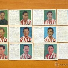 Cromos de Fútbol: ATLETICO MADRID (AVIACIÓN) - COMPLETO 12 CROMOS - ALBUM UNIVERSAL - EDICIONES ESPAÑA 1943. Lote 53808390