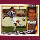 Cromos de Fútbol: COLOCA - VARA - REAL VALLADOLID - ESTE - 1995 1996 - 95 96 - NUNCA PEGADO. Lote 53835704